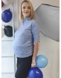 Komplet bluzka I spódnica ciążowa Ready-to-go jeans