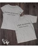 Koszulki dla pary Grzeczna/y