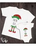 Koszulka i body/koszulka dla taty i dziecka ELF