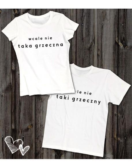 Koszulki dla pary NIEGrzeczna/y