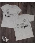 Koszulki dla babci i dziadka Król i Królowa