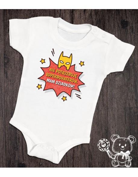 Body/koszulka Dziadkowie Superbohaterzy