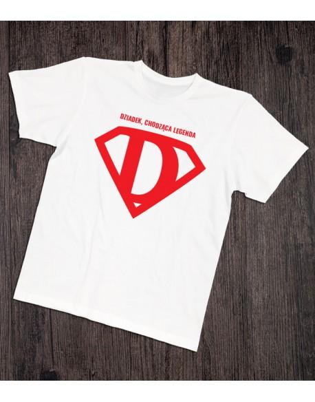 Koszulka dla Dziadka Dziadek legenda