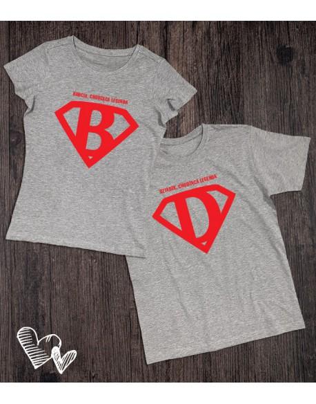 Koszulki dla Babci i Dziadka legendy