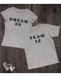 Koszulki dla pary Dream/Team