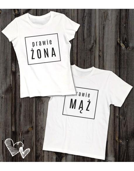 Koszulki dla pary Prawie
