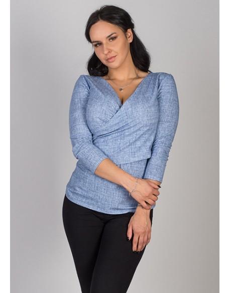 OUTLET/Bluzka do karmienia piersią i ciążowa Sosexy jeans