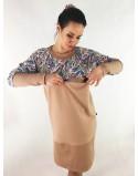 Sukienka ciążowa i do karmienia piersią