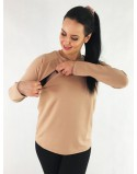Bluza do karmienia piersią SIMPLE HouseWife latte