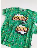 Koszulki dla taty i dziecka Goool