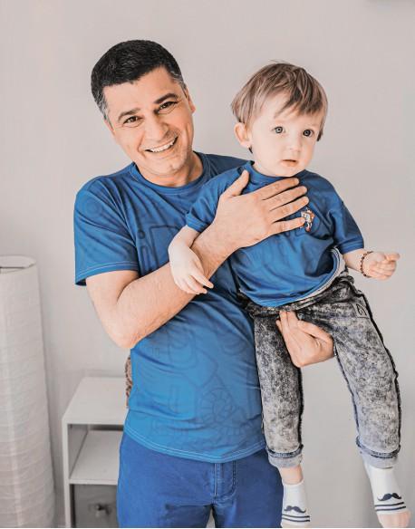 Koszulki dla taty i syna ROBOTY
