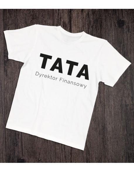 Koszulka dla taty Dyrektor Finansowy