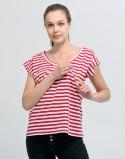 Bluza letnia do karmienia piersią