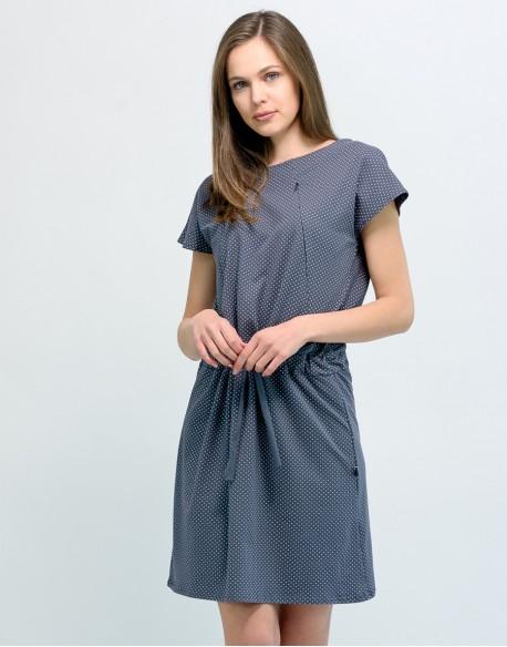 Sukienka do karmienia piersią i ciążowa SOCOOL kropeczki