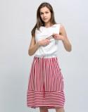 Sukienka do karmienia piersią i ciążowa PORTOFINO light stripes