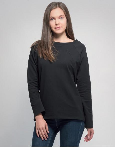 Bluza do karmienia piersią SIMPLE czarna