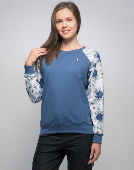 Bluza do karmienia piersią COLOR POWER Blueberries