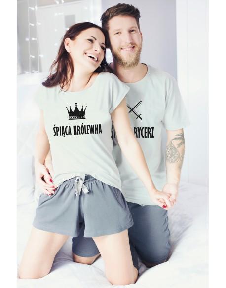 Piżamy dla pary Śpiąca Królewna