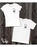 Koszulki dla pary Nie przeszkadzać