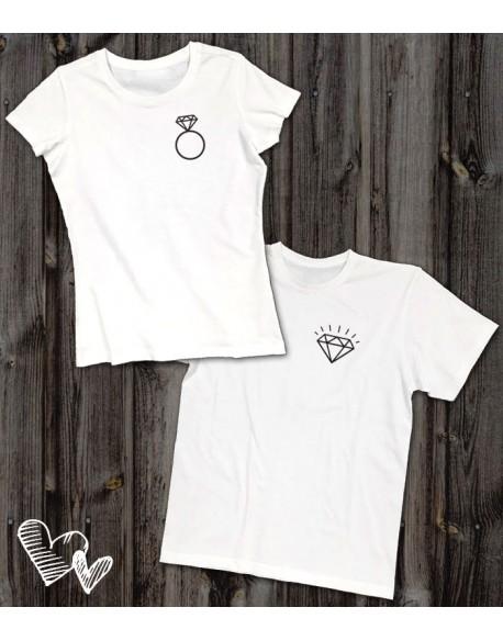 Koszulki dla pary Pierścionek