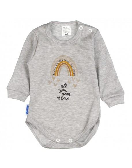 Body niemowlęce tęcza melanż