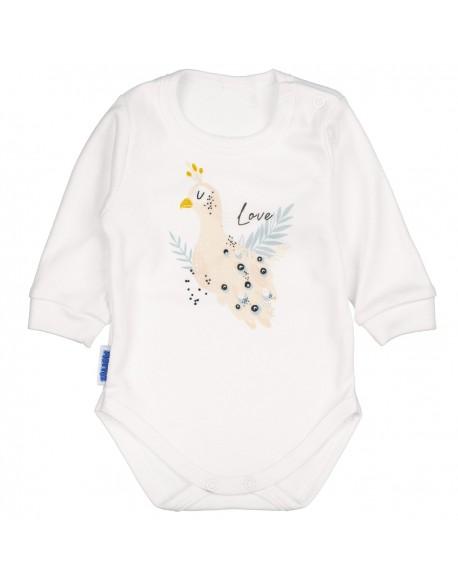 Body niemowlęce paw białe