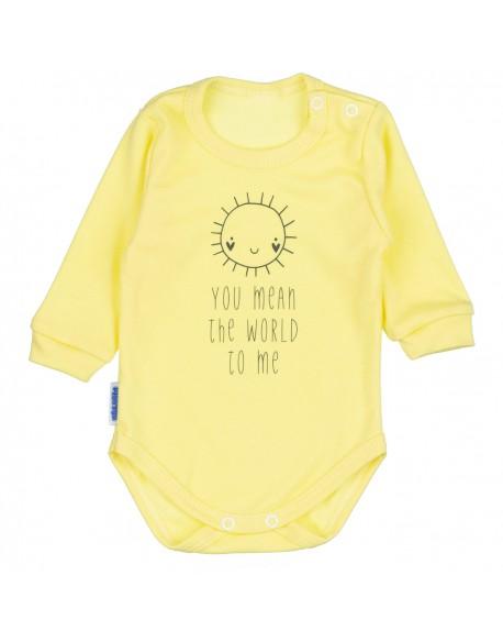 Body niemowlęce żółte słoneczko