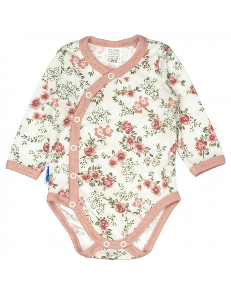 Body niemowlęce kopertowe róże