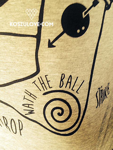 koszulka dla fana squasha