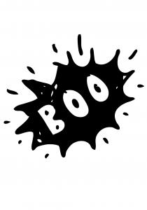 boo grafika na body dla dziecka halloween